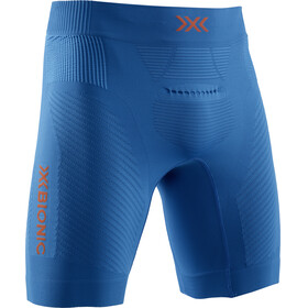 X-Bionic Invent 4.0 Run Speed Shorts Men teal blue/kurkuma orange